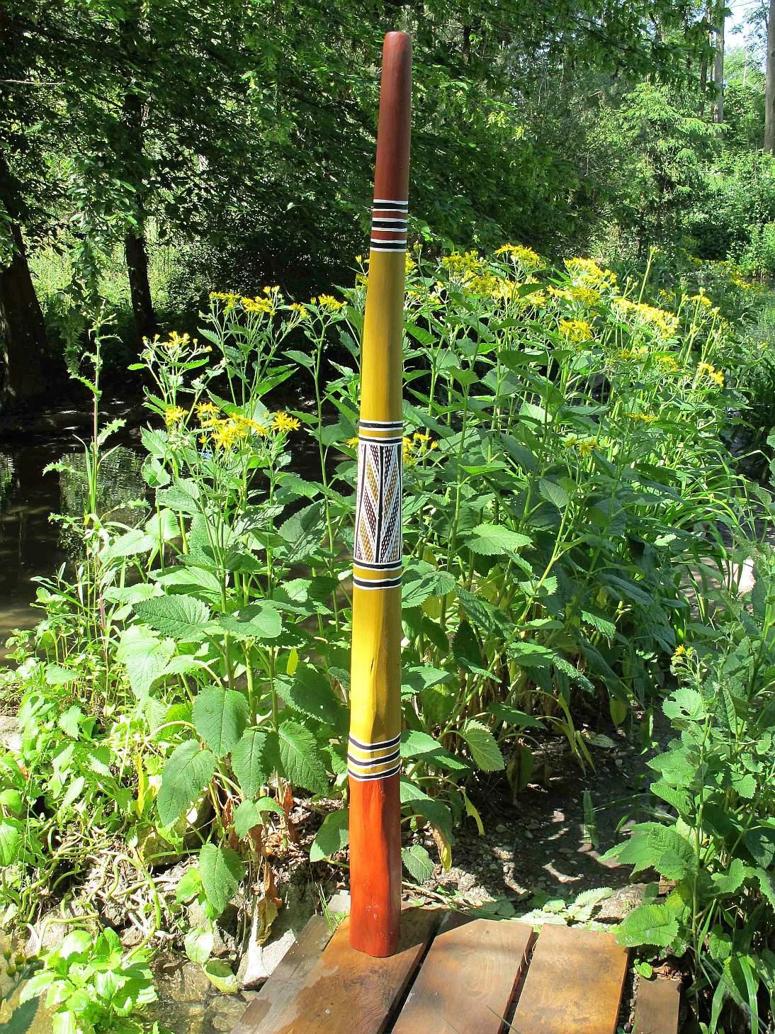 Didgeridoo (Yidaki oder auch Mandapul) von Djalu Gurruwiwi