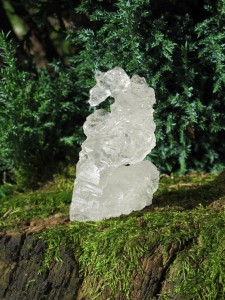 Nirvana-Kristall oder Himalaya Ice Kristall aus Pakistan. Claus Heckl. Stimme der Seele